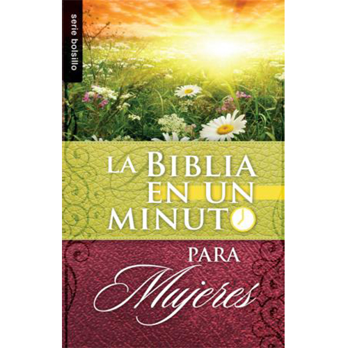 Biblia en un minuto: Para mujeres